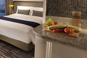 Reconstituted stone counter top